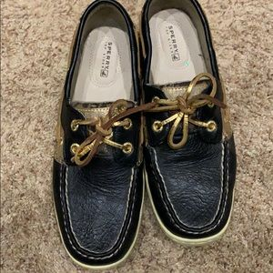 Sperry worn once!!